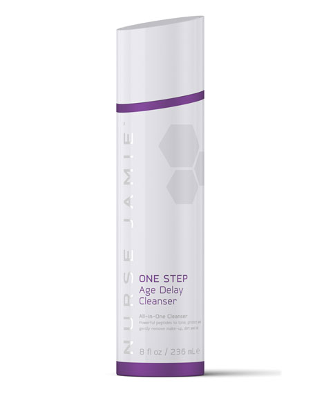 One Step Age Delay Cleanser, 8 oz.