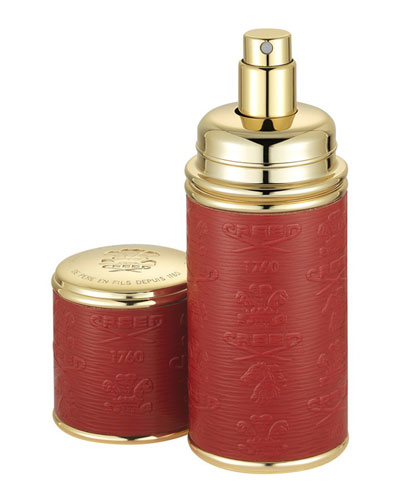Spring Flower Filled Red/Gold Atomizer, 50 mL
