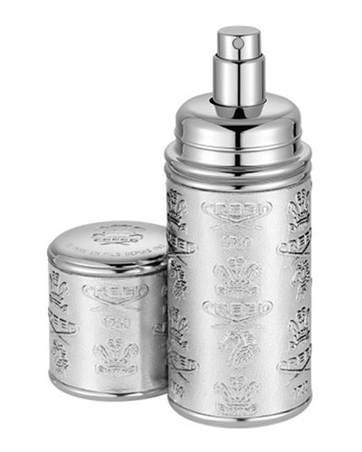 Love in White Filled Silver Atomizer, 50mL