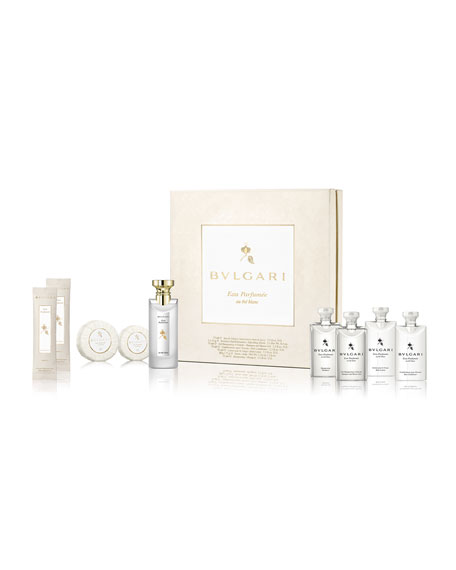 BVLGARIEau Parfumée Au Thé Blanc Guest Collection Set