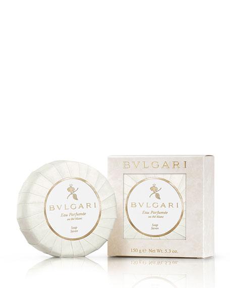 BVLGARI Eau Parfumée au thé Blanc Deluxe Soap,