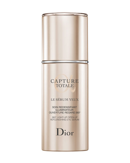 Capture Totale 360° Light-Up Open-Up Replenishing Eye Serum, 0.51 oz.