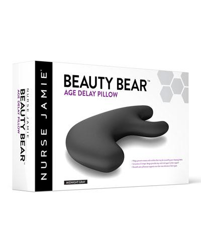 Beauty Bear™ Age Delay Pillow, Midnight Gray