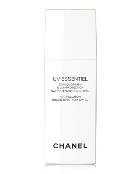 <B>UV ESSENTIEL</b><BR> Multi-Protection Daily Defense Sunscreen Anti-Pollution Broad Spectrum SPF 30, 1.0 oz.