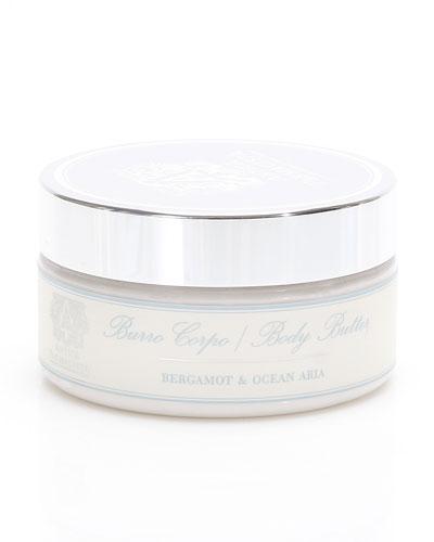 Bergamot & Ocean Aria Body Butter, 8 oz.