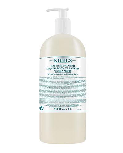 Coriander Bath & Shower Liquid Body Cleanser, 33.8 oz.