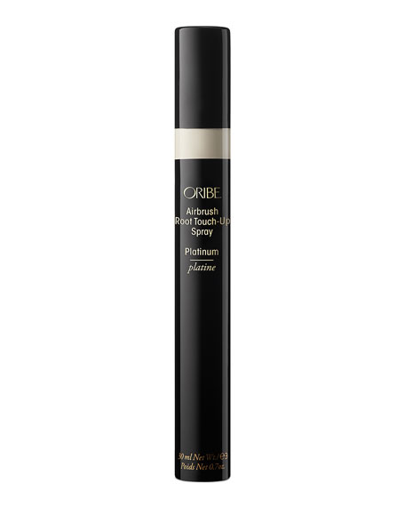 Oribe Airbrush Root Touch-Up Spray, Platinum Blonde, 0.7