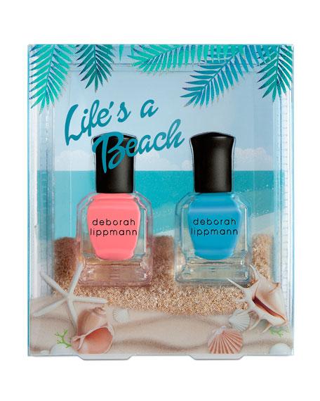 Deborah Lippmann Life's A Beach 2-Piece Nail Polish