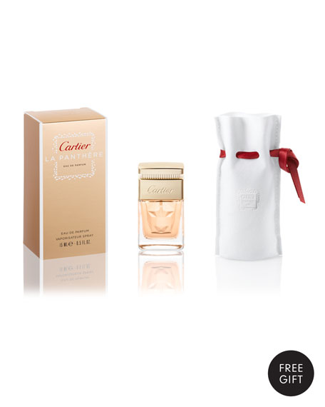 Yours with any $125 Cartier Fragrance purchase