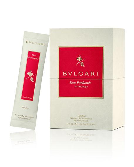 BVLGARI Eau Parfumée au thé rouge Refreshing Towels