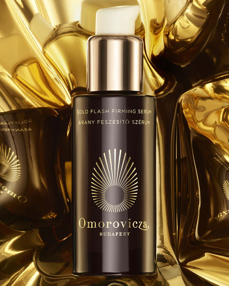 Image 3 of 4: Omorovicza 1 oz. Gold Flash Firming Serum