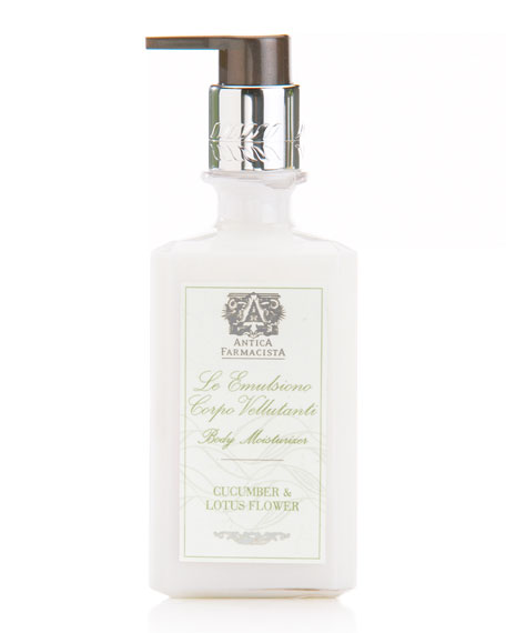 Antica Farmacista Cucumber & Lotus Flower Body Moisturizer,