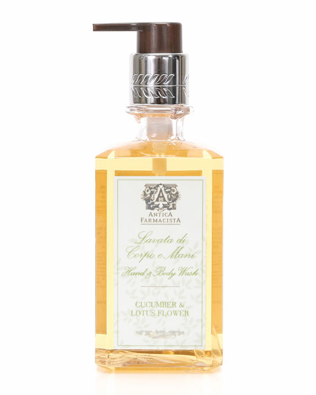 Antica Farmacista Cucumber & Lotus Flower Hand Wash,