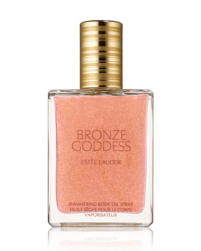 Bronze Goddess Shimmering Body Oil Spray, 1.5 oz.