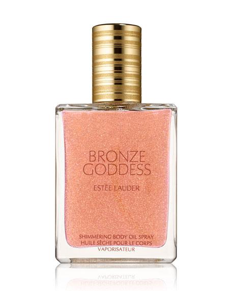 Estee Lauder Bronze Goddess Shimmering Body Oil Spray,