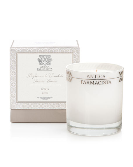 Antica FarmacistaAcqua Round Candle, 9 oz.