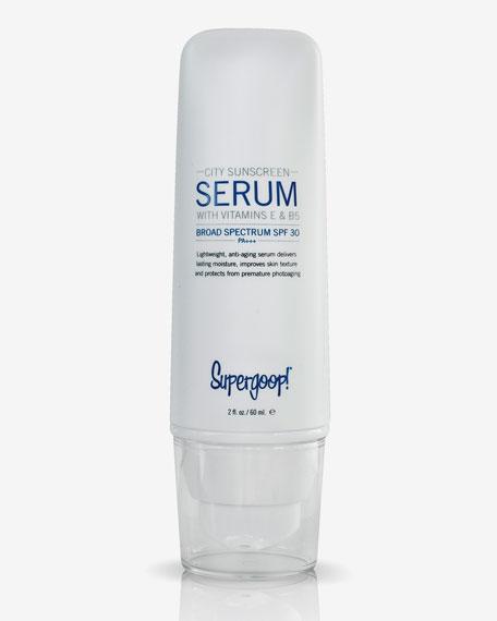City Sunscreen Serum SPF 30,  2 oz.