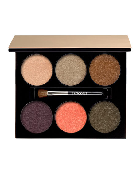 Lancome Limited Edition Color Design 6-Pan Eyeshadow Palette