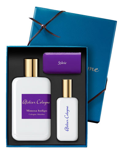 Mimosa Indigo Cologne Absolue, 200 mL with Personalized Travel Spray, 30 mL