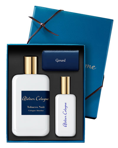 Tobacco Nuit Cologne Absolue, 200 mL with Personalized Travel Spray, 30 mL