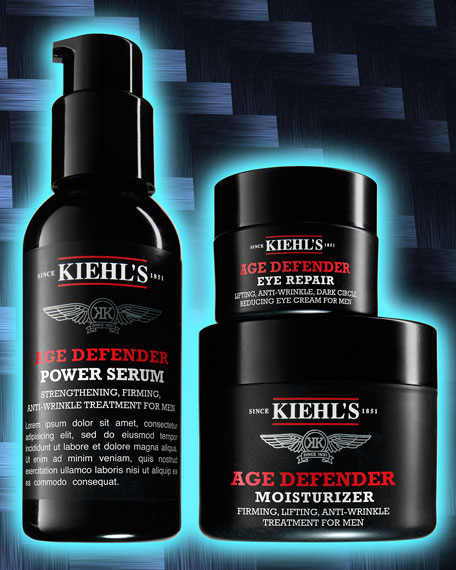 Age Defender Power Serum for Men, 2.5 oz.