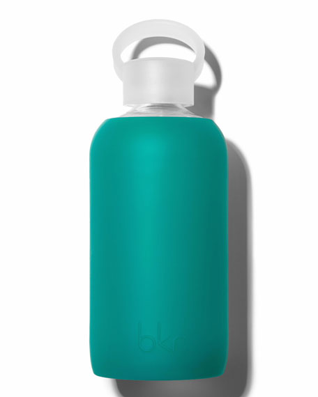 Glass Water Bottle, Ivy, 500 mL