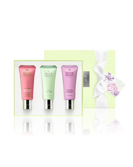 Molton Brown Timeless Floral Hand Cream Trio ($45