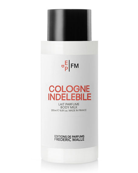 Cologne Indelebile Body Milk, 6.8 oz./ 200 mL