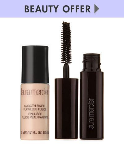 Yours with any $75 or more Laura Mercier purchase—Online only*