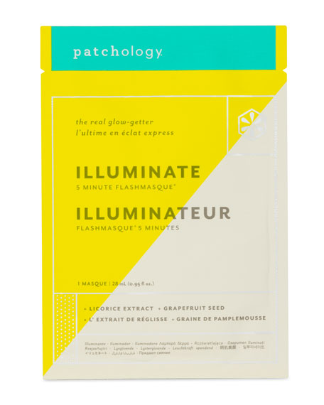 FlashMasque™ Illuminate Facial Sheets, 4-pack