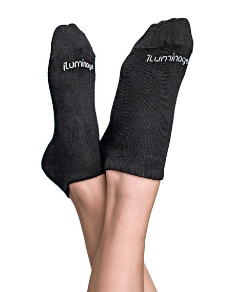 Iluminage Beauty Skin Rejuvenating Socks with Patented Copper