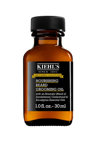Kiehl's Since 1851 Nourishing Beard Grooming Oil, 1.0 oz.