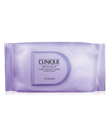 Take the Day Off Micellar Cleansing Towelettes for Face & Eyes
