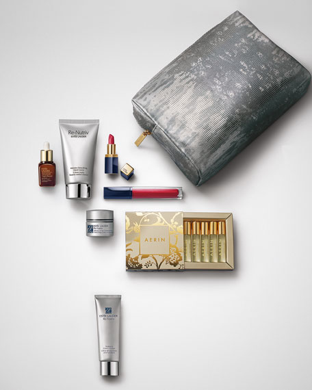Yours with any $75 or more Estée Lauder purchase ($250 Value)