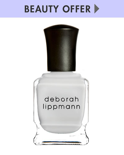 Yours with any $50 Deborah Lippmann purchase—Online only*