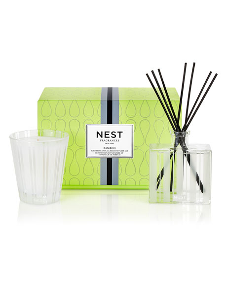 Nest Fragrances Classic Candle & Reed Diffuser Set