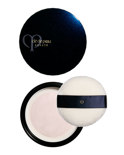 Translucent Loose Powder with Case & Puff