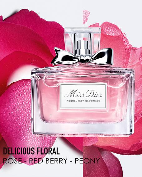 Miss Dior Absolutely Blooming Eau de Parfum, 3.4 oz.