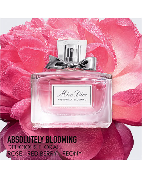 Miss Dior Absolutely Blooming Eau de Parfum, 3.4 oz.