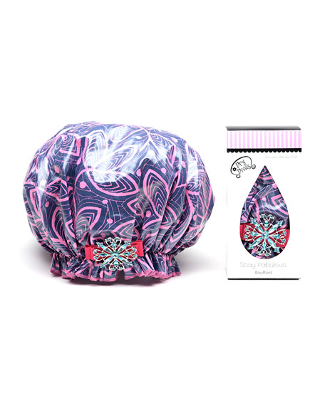 Dry Divas Ivy League Bouffant Diva Shower Cap