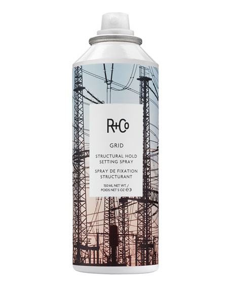 R+Co GRID Structural Hold Setting Hair Spray, 5