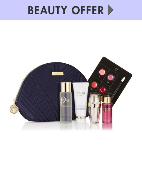 Receive a free 5-piece bonus gift with your $350 Clé de Peau Beauté purchase