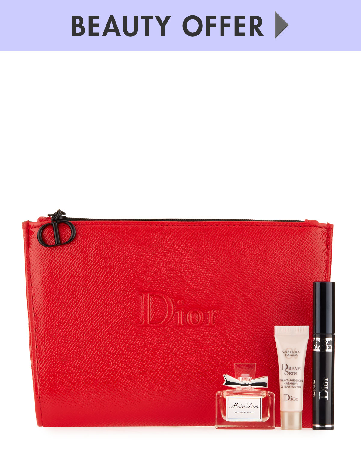 Dior Yours with any $200 Dior Beauty purchase*