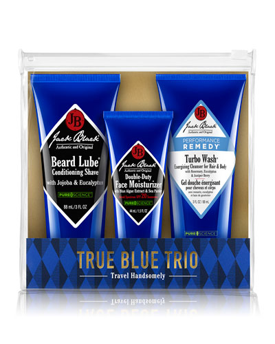 True Blue Trio Set in Pouch