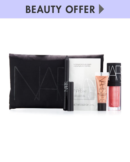 Receive a free 5-piece bonus gift with your $125 NARS purchase
