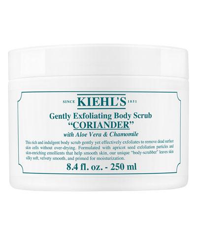 Coriander Gently Exfoliating Body Scrub. 8.4 oz.