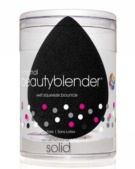 Pro beautyblender + mini solid cleanser, Black
