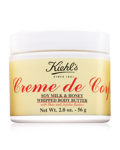 Limited Edition Crème de Corps Soy Milk & Honey Whipped Body Butter, 2.0 oz.