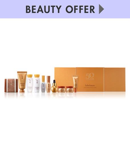 Receive a free 10-piece bonus gift with your $550 Sulwhasoo purchase