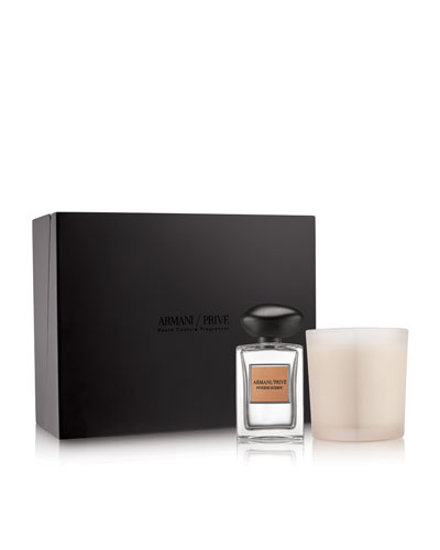 Limited Edition Armani Prive Pivoine Suzhou Candle Set